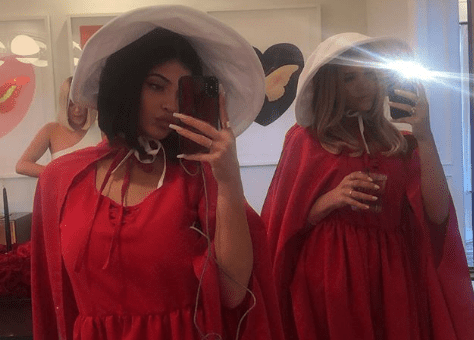 Kylie Jenner Dresses Up as Handmaid's Tale Character for Stassi's Birthday Party