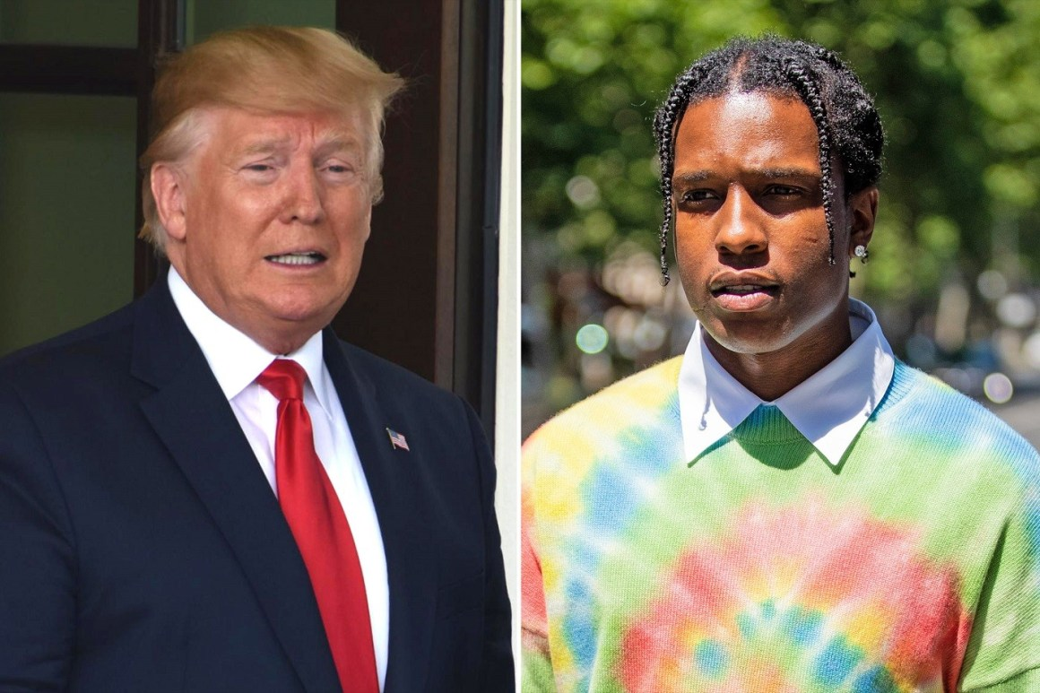 Donald Trump Offers to'Personally Vouch' for ASAP Rocky's Bail