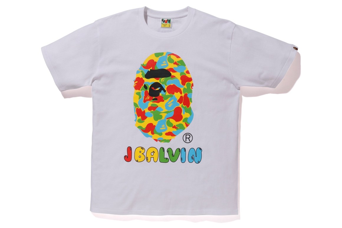 J Balvin Teams Up With BAPE on Exclusive Camo Tee