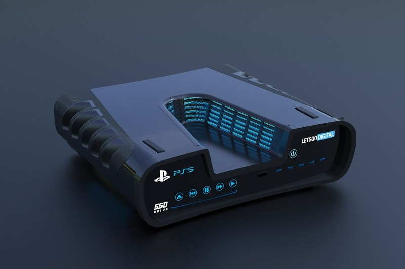 Sony's Leaked PlayStation 5 Design Looks Fantastic In These New Renders
