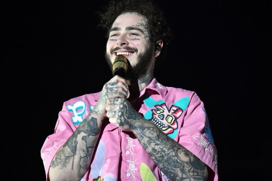 Post Malone Debuts Massive New Face Tattoo Ahead of New Year Eve Performance