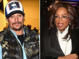 Kid Rock Escorted off Stage after Drunken Rant Against Oprah Winfrey