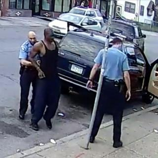 Footage Shows George Floyd Moments Before His Death, Wasn't Resisting Arrest