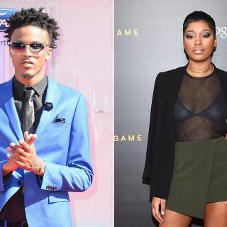 August Alsina Reacts After Keke Palmer Denies Past Dating Rumors