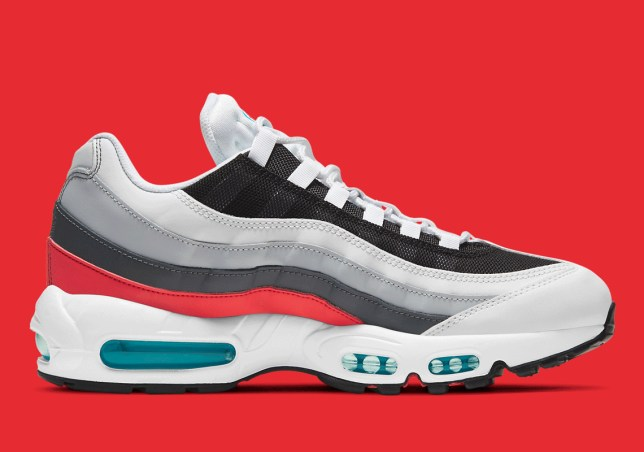 """The Nike Air Max 95 Features """"Red Carpet"""" Appeal"""