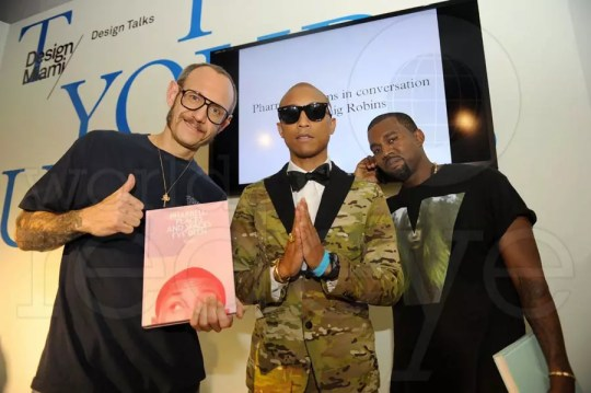 Terry Richardson, Pharrell Williams, & Kanye West
