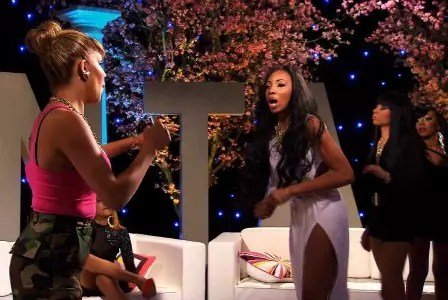 Valentina readies for a another smackdown--this time from Rocky.