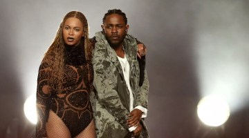 "Beyonce, And, Kendrick Lamar, Perform, ""Freedom"", At The 2016, BET Awards"