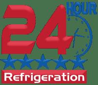 24 Hour Refrigeration - Logo