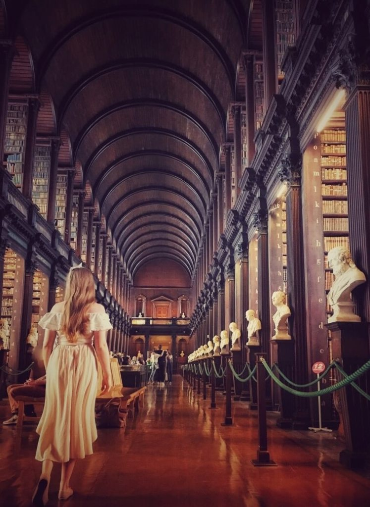 24 hours in Dublin trinity college