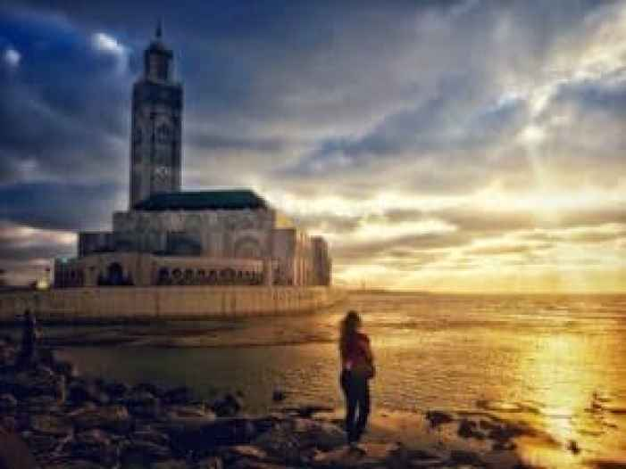 hassan 2 mosque casablancatravelling solo around arabic countries as a western woman Middle East