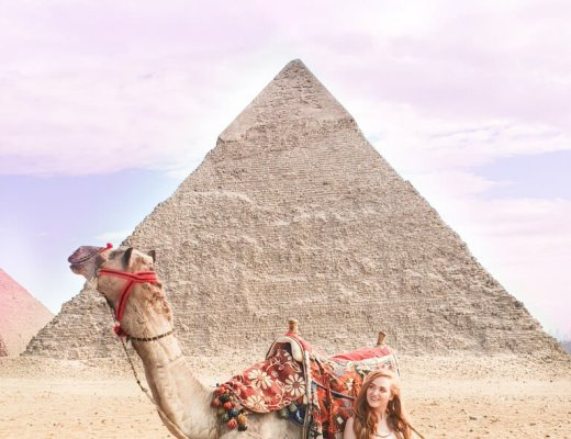 the pyramids of Giza Cairo Egypt