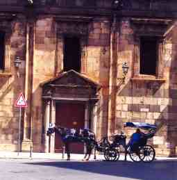 Palermo Sicily horse drawn carriage