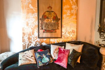 40 winks boutique hotel London living room
