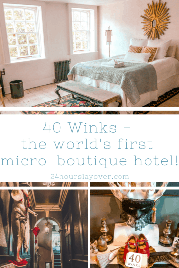 40 winks world's first micro-boutique hotel