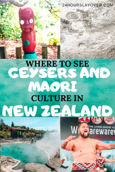 geysers and Maori culture New Zealand
