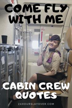 cabin crew quotes