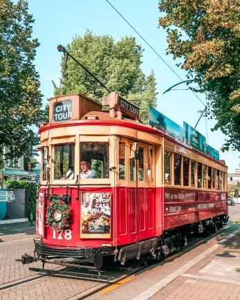 Christchurch tram NZ