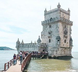 Belem-tower best photo spots in Lisbon