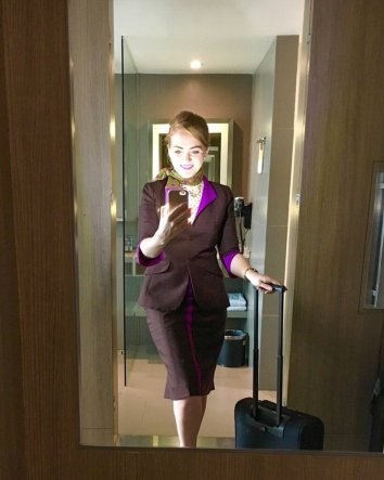 etihad flight attendant