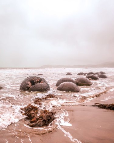 moeraki boulders must see South Island New Zealand