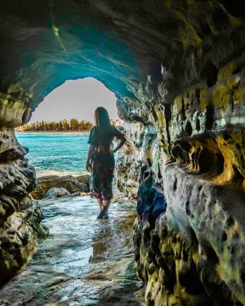 manly wormhole Queenscliff beach Sydney