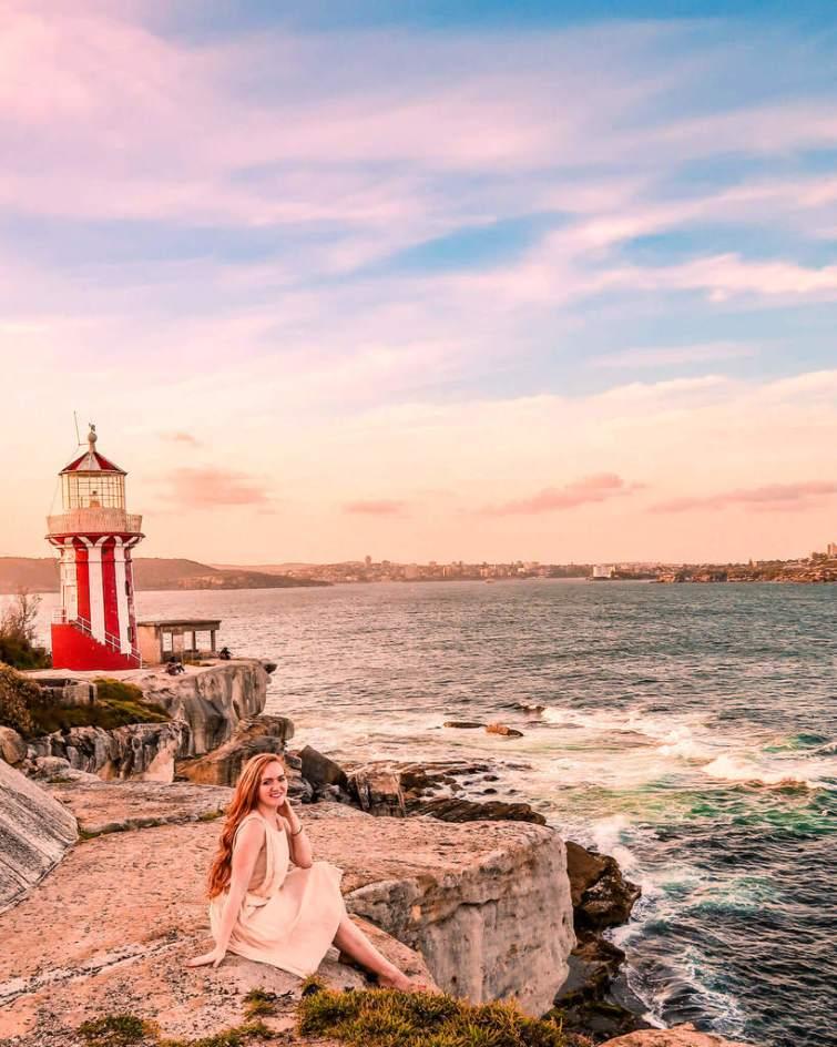 Watson's bay lighthouse Sydney