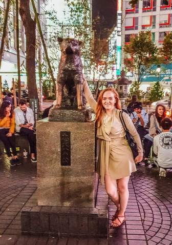 hachiko the dog 24 hours in tokyo