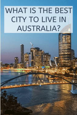 which is the best city to live in Australia?