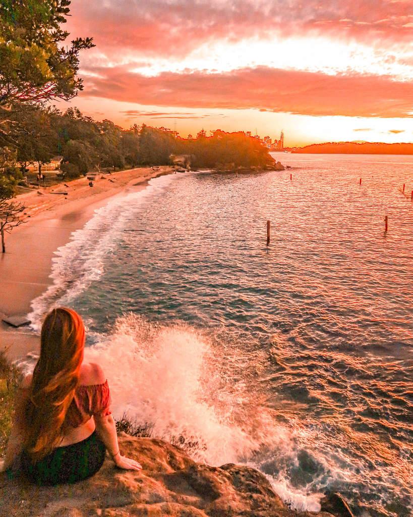 shark beach Sydney