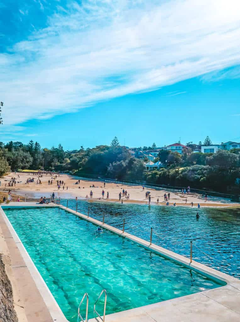 clovelly pool bondi to Coogee walk