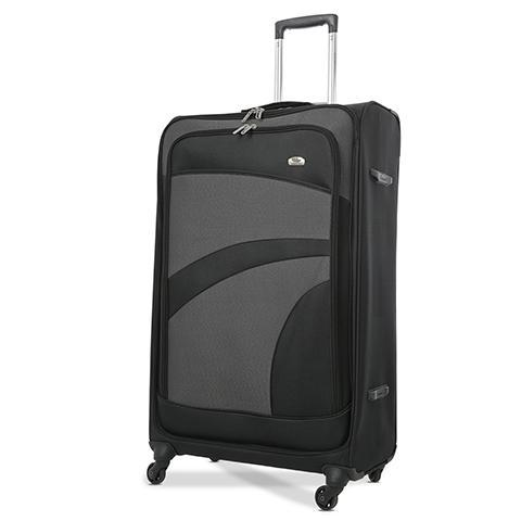 black large suitcase