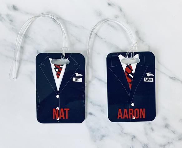 BA luggage tag