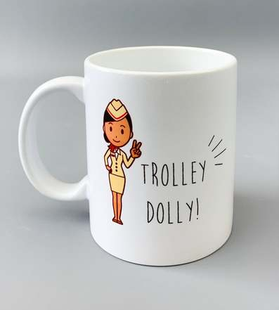 trolley dolly mug