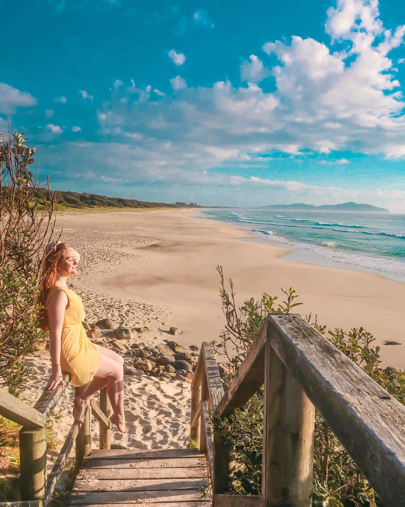 seven mile beach booti booti national park