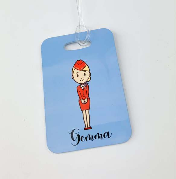 cc personalised bag tag