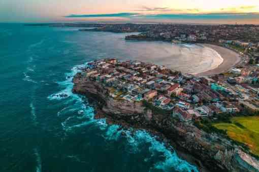 ben buckler Bondi Beach sunset