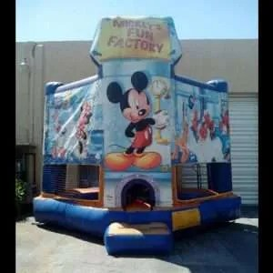 Mickey Mouse Fun Factory Bounce House Rentals Miami