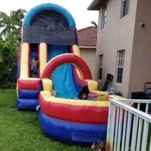 Water Slide w/ Ramp