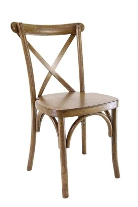 wooden-crossback-chairs at 24 Hours Party Rentals in Miami