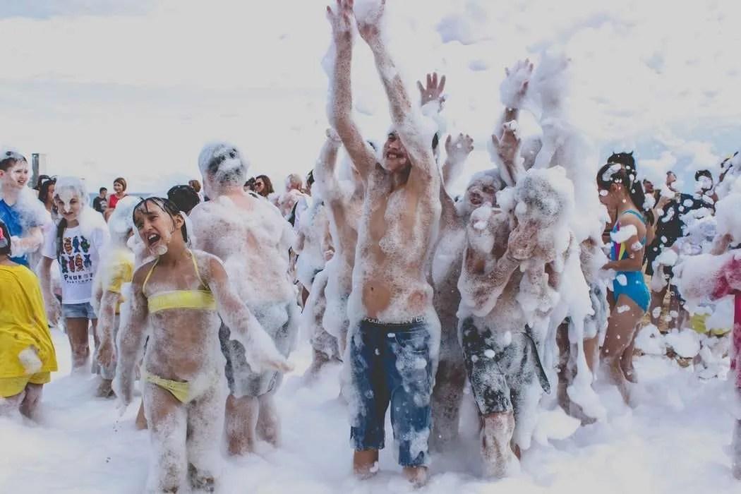 Foam Machine Rental Miami party