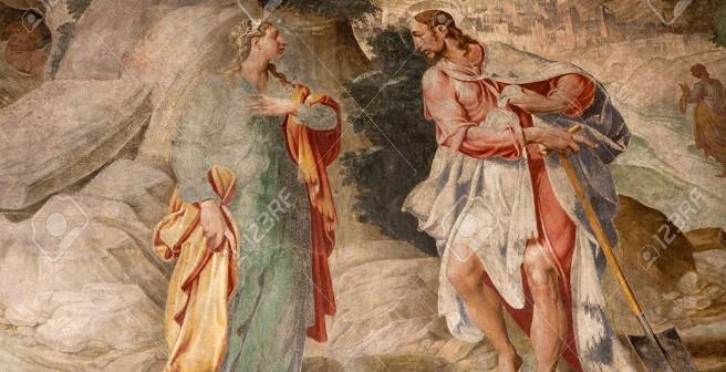Yesus menampakan diri-Nya kepada Maria Magdalena,www.123rf.com