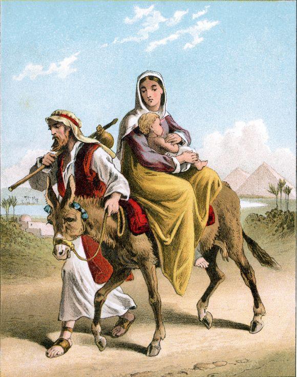 Joseph and Mary's Flight into Egypt