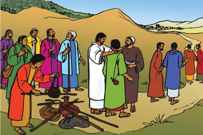 """Luk 10:1-9 """"Tuaian memang banyak, tetapi sedikitlah pekerjanya."""""""