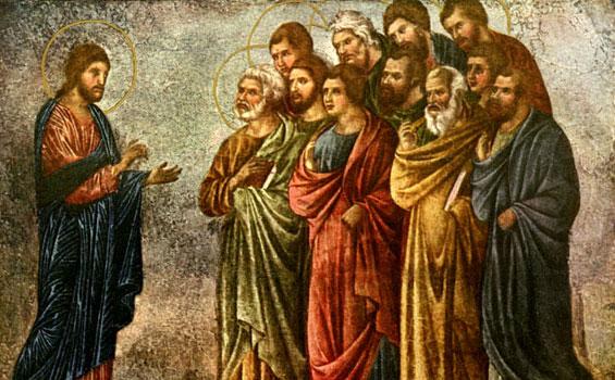 Mrk 9:38-40 Barangsiapa tidak menentang kalian, memihak kalian.