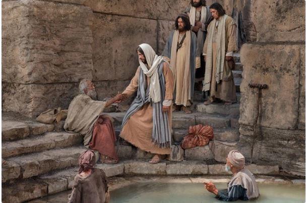 """Yohanes 5:1-3a.5-16 """"Orang itu disembuhkan seketika."""""""