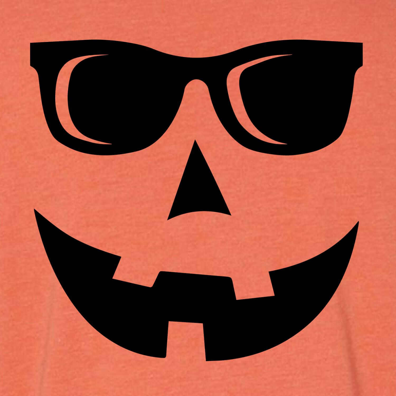 Jack O Lantern With Sunglasses T Shirt