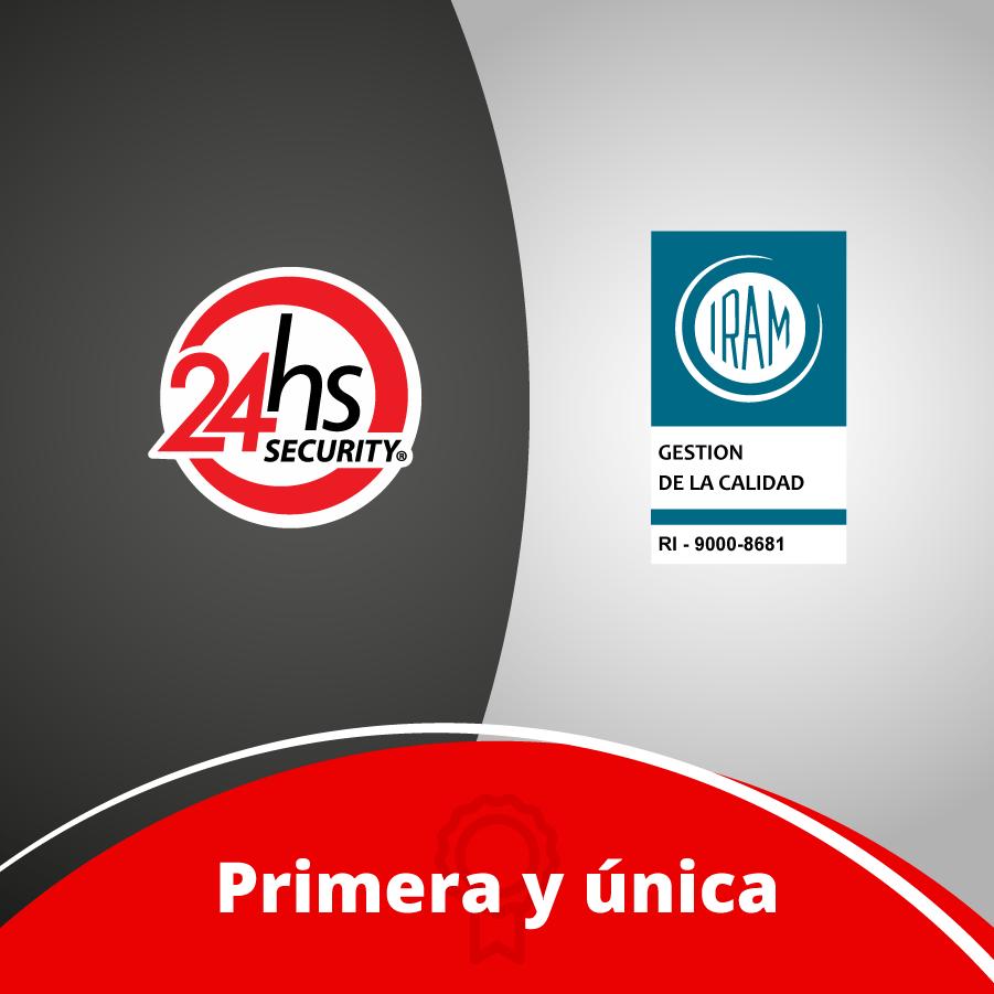 24hsSECURITY Primera Unica