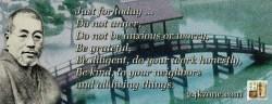 Reiki Precepts English