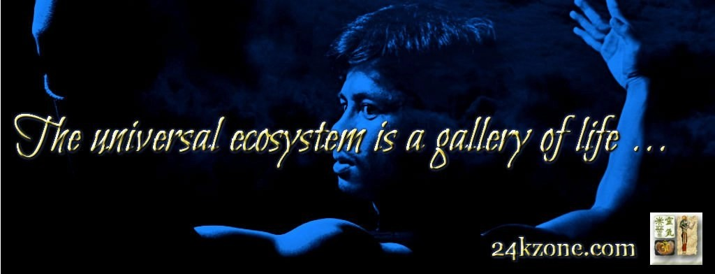 The universal ecosystem is a gallery of life
